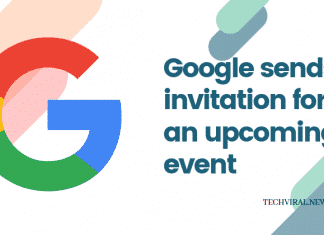 Google launch event