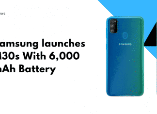 Samsung launches M30s With 6,000 mAh Battery