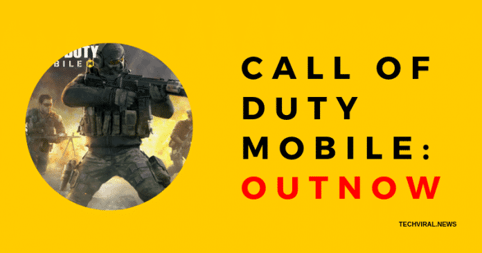 CALL OF DUTY MOBILE_ OUTNOW