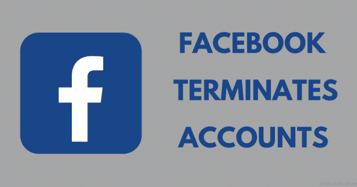 Facebook Terminates Accounts Related to Disinformation Campaign