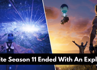 Fortnite Game Has Gone After A Giant Cosmic Explosion