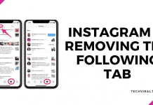 Instagram Will Drop The Following Tab In Forthcoming Update