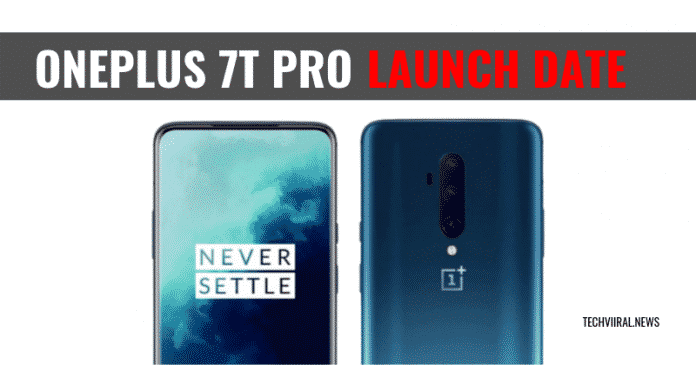 OnePlus 7T Pro Launch Date Leaked