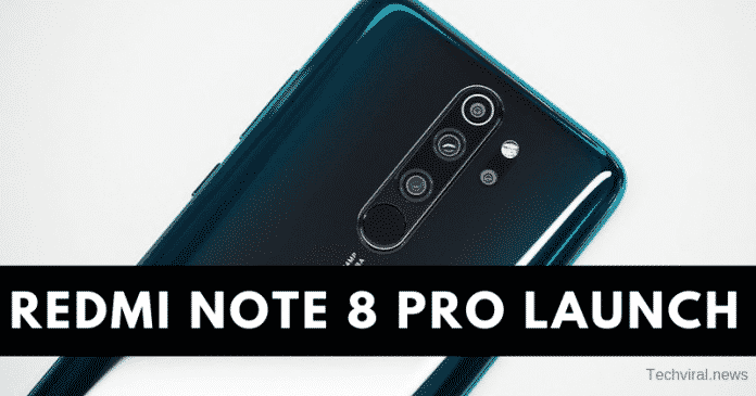 Redmi Note 8 Pro to Launch in India: Here are the Specs