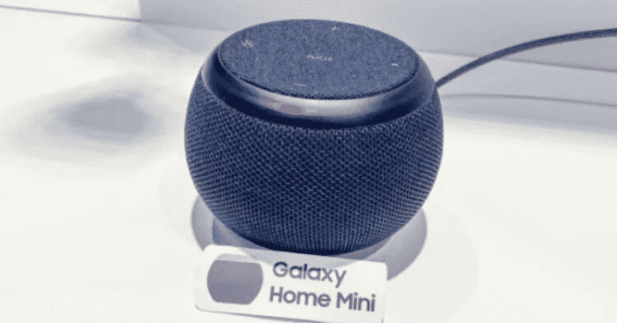 Samsung Teases a Galaxy Home Mini Before Official Launch