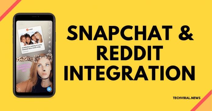 Snapchat's New Update Brings Integration For Reddit