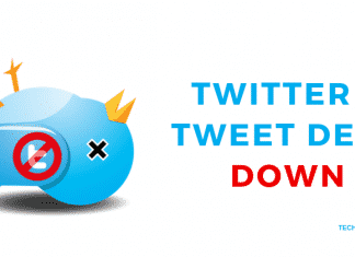 TWITTER & TWEET DECK DOWN