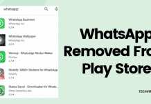 WhatsApp Has Been Removed From The PlayStore