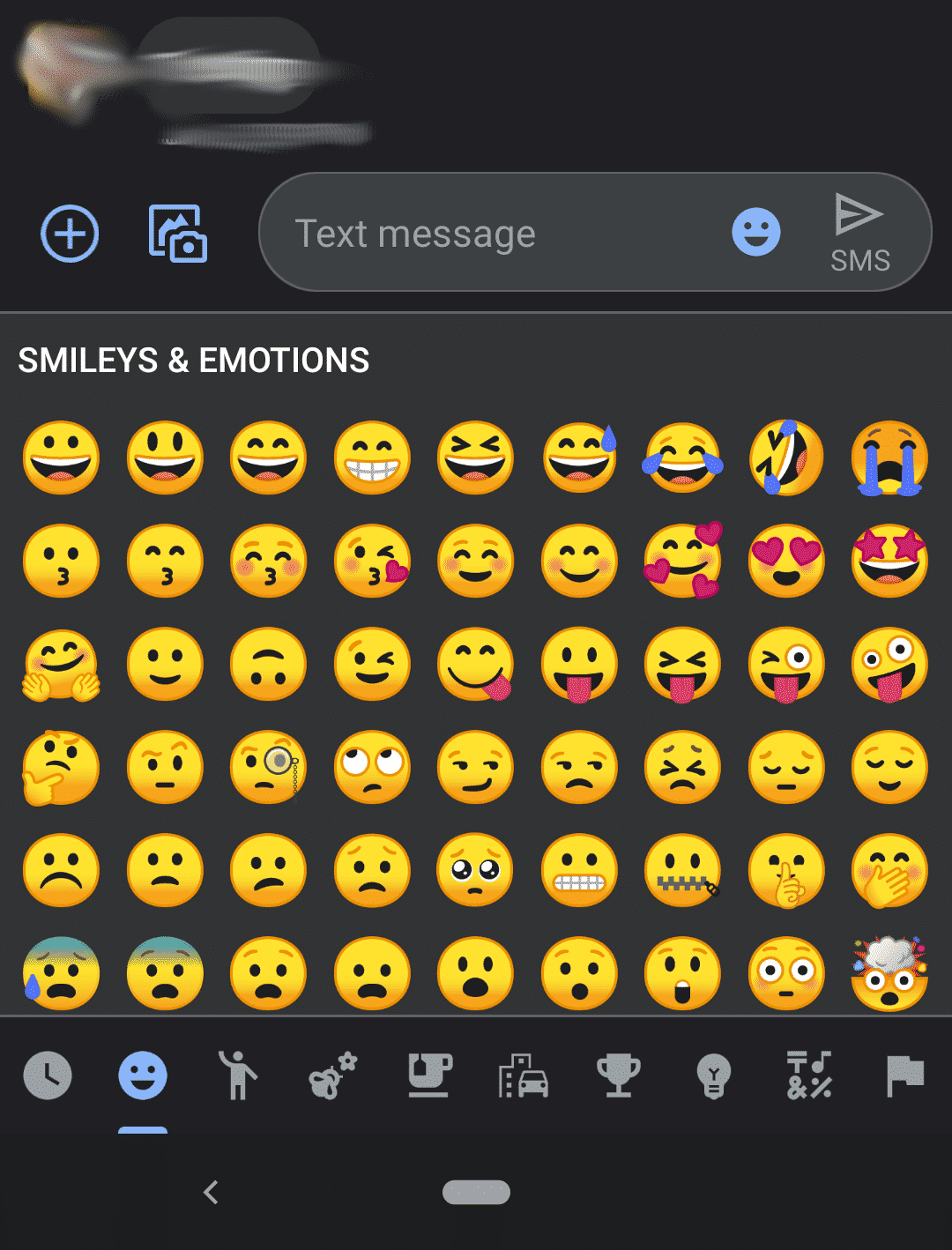 Messages Dark Mode