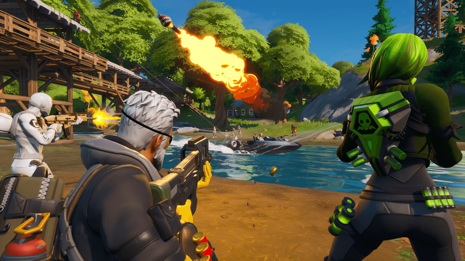 Fortnite Is Back With A New Map & Vehicle