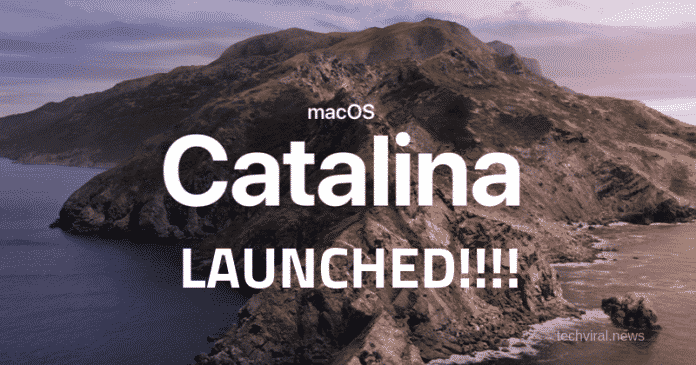 macOS Catalina Launched
