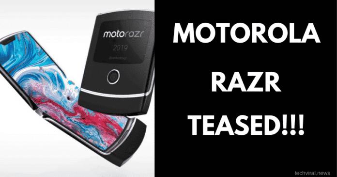 Motorola teases RAZR 2019