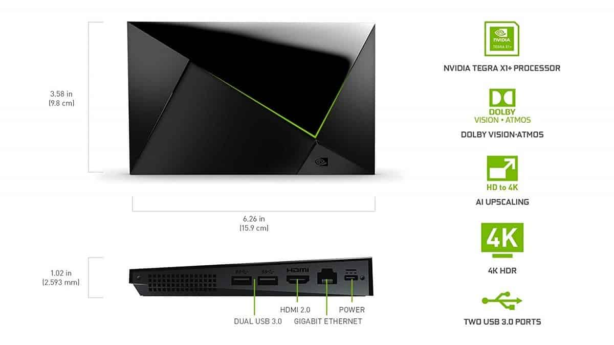 NVIDIA Shield TV Pro Specs