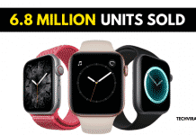 Apple Shipped 6.8 million Smartwatches in Q3 of 2019
