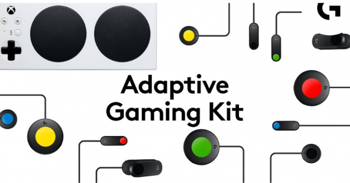 Logitech unveils Adaptive Gaming Kit for Cheaper Accessible Gaming
