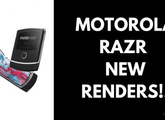 New Renders of Motorola RAZR Appear on Weibo!!