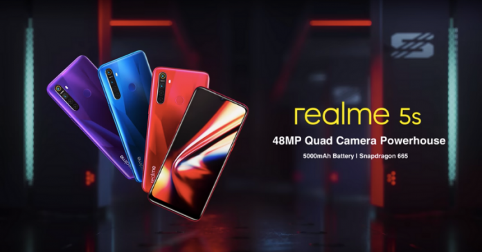 Realme 5s Teased: Equipped with Snapdragon 665