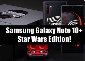 Samsung Galaxy Note 10+ Star Wars Edition Launched!