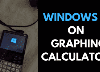 Developer Manages To Run Windows 10 IoT Core On A Graphing Calculator!