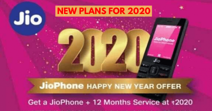 Reliance Jio New Plans: Happy New Year Offer with 365 days validity