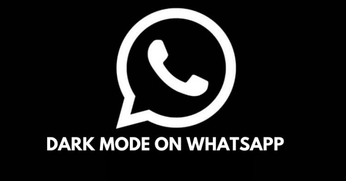Whatsapp Latest Update: Dark Mode Feature is Finally Out