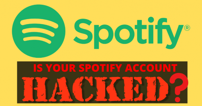 is your spotify account hacked?