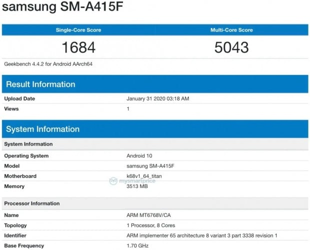 Samsung To Ship MediaTek Chipset In The Upcoming Galaxy A41