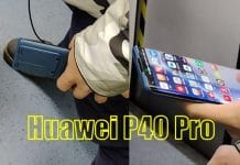 Huawei P40 Pro Live Images Outed!