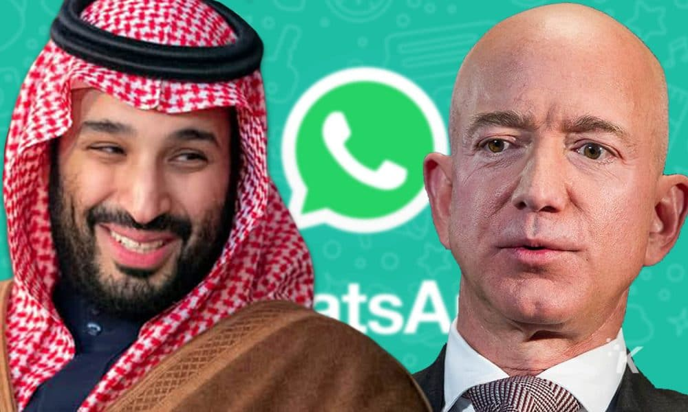 Jeff Bezos Phone Hacked By The Saudi Crown Prince Details Here