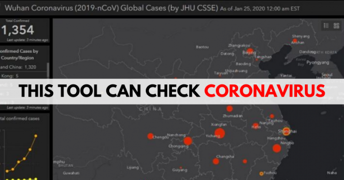 Now Coronavirus Can be Tracked Online With This Tool