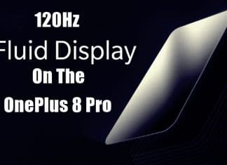 OnePlus 8 Pro To Feature a 120Hz Fluid Display