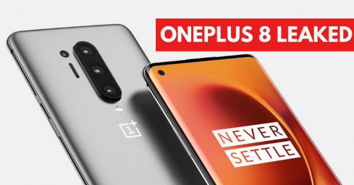 OnePlus 8 and OnePlus 8 Pro Specs Leaked Details Here