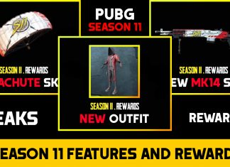PUBG Mobile Update: Season 11 Leaks All Rewards, Skins and Outfits