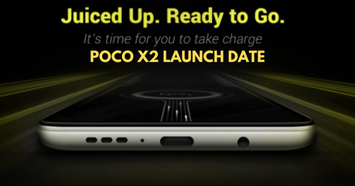 Poco X2 Launch Date in India Confirmed, Event Set for February 4