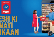 Reliance launched JioMart grocery delivery service in India