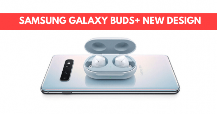 Samsung Galaxy Buds+ New Design and New Colours