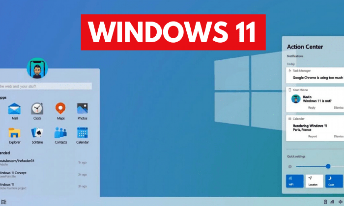 Windows 11: The Operating System Which We Need (Concept)