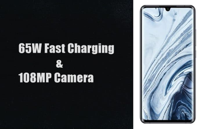 Xiaomi Mi 10 Pro To Support 65W Fast Charging