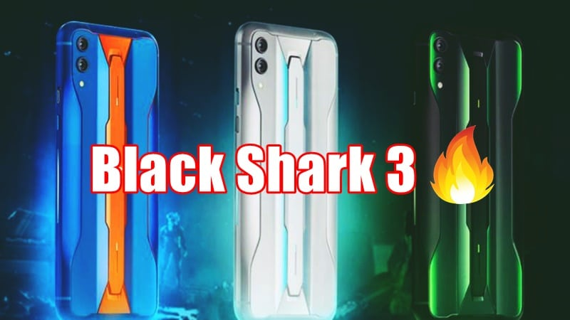 Xiaomi Black Shark 3 design partially revealed in promo videos