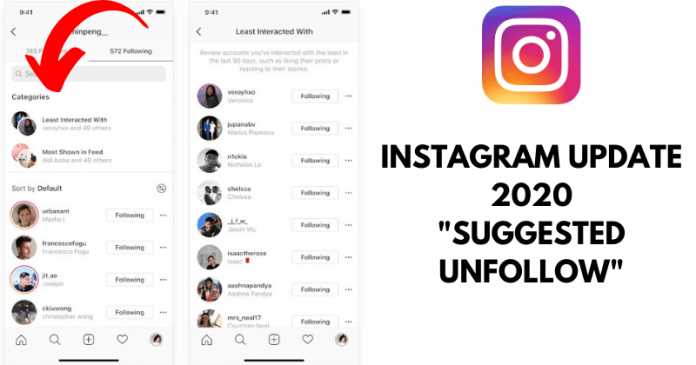 Instagram Update: Helps Users To Unfollow People They Don't Interact With