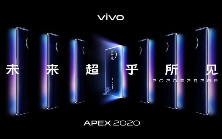 Vivo APEX 2020 Launched Without Ports, Speaker, And Physical Selfie Camera