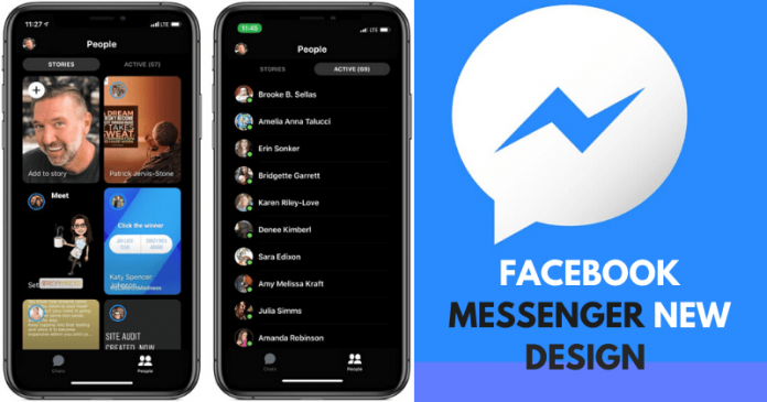 Facebook Messenger App Redesign, Discover Tab Removed!