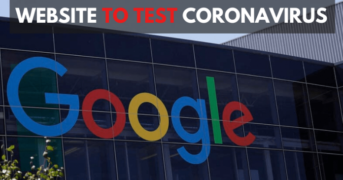 Google Making Self-Check Website On Coronavirus Testing