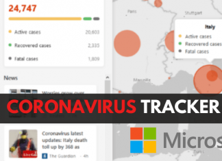 Microsoft Bing Launches Coronavirus Tracker Worldwide