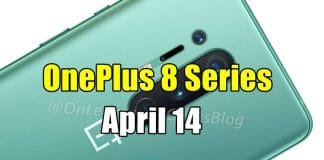 OnePlus 8 Series Is Debuting On April 14