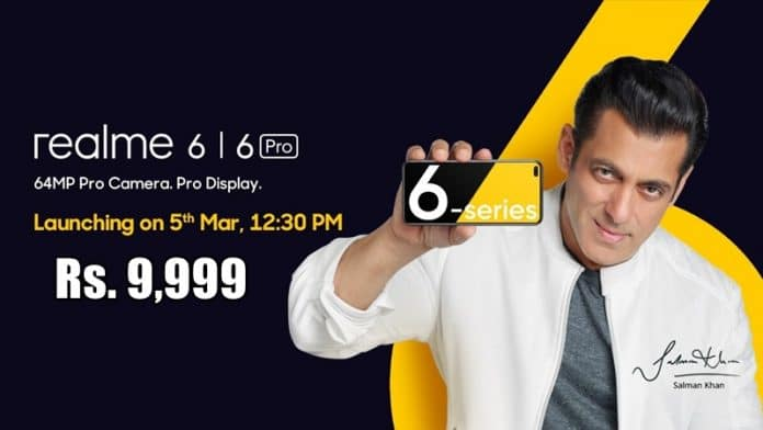 Realme 6 Series To Start At An Exciting Price Of ₹9,999(Rumour)