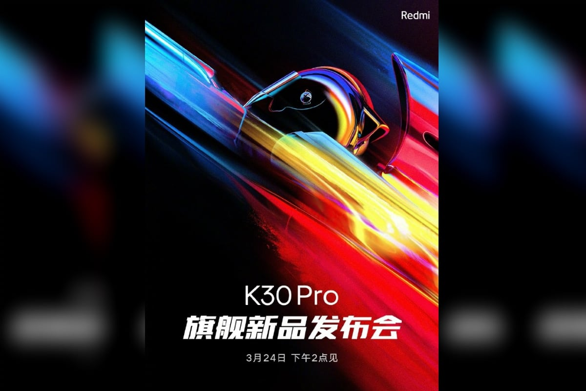 Redmi K30 Pro To Hit The Floors On March 24