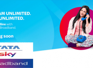 Tata Sky Broadband To Offer Free Landline Service With Unlimited Calling