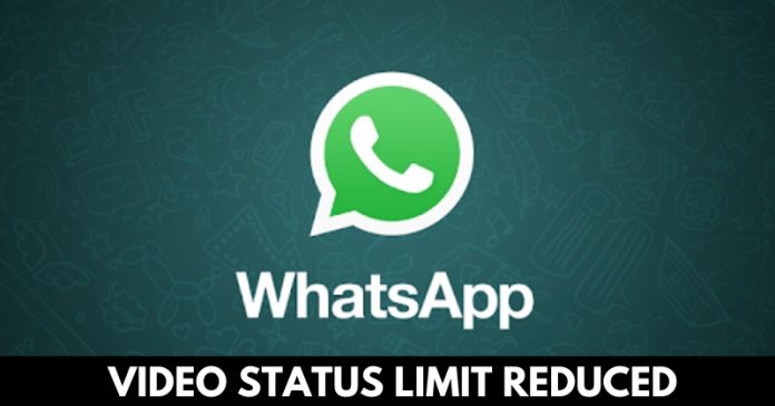 Whatsapp Reduces Status Limit To 15 Seconds In India