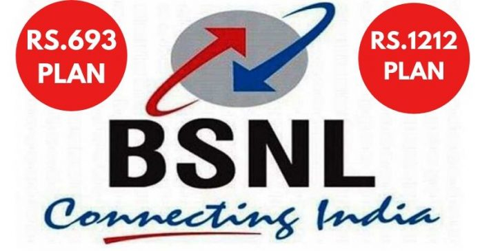 BSNL Introduced Rs.693 & Rs.1212 Long Term Prepaid Plans